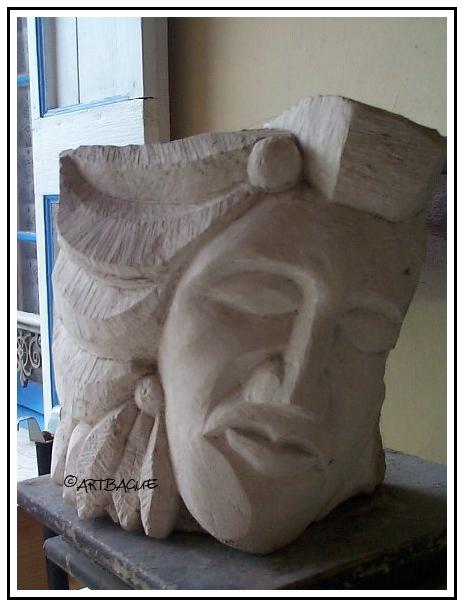Indien-sculpture